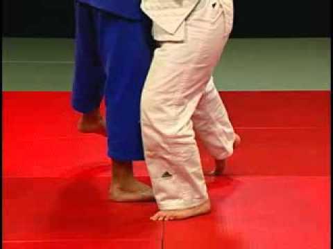Judo - Técnicas de piernas O Soto Gari