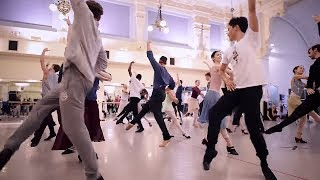 La Sylphide: Corps de ballet rehearsal | English National Ballet
