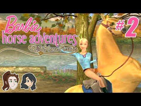 Barbie Horse Adventures: Wild Horse Rescue - Part 2 - Jesus Powers Barbie