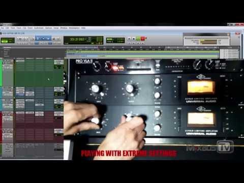 Classic FET 1176LN Compressor Hardware vs Plugin comparison - Kick Drum - Mix