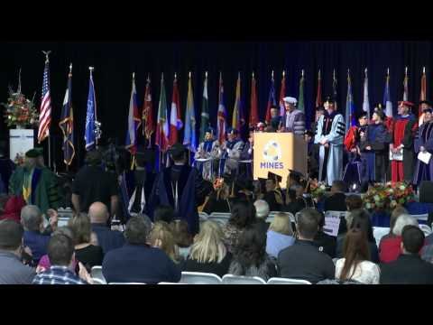 2016 Colorado School Of Mines Midyear Graduate Commencement