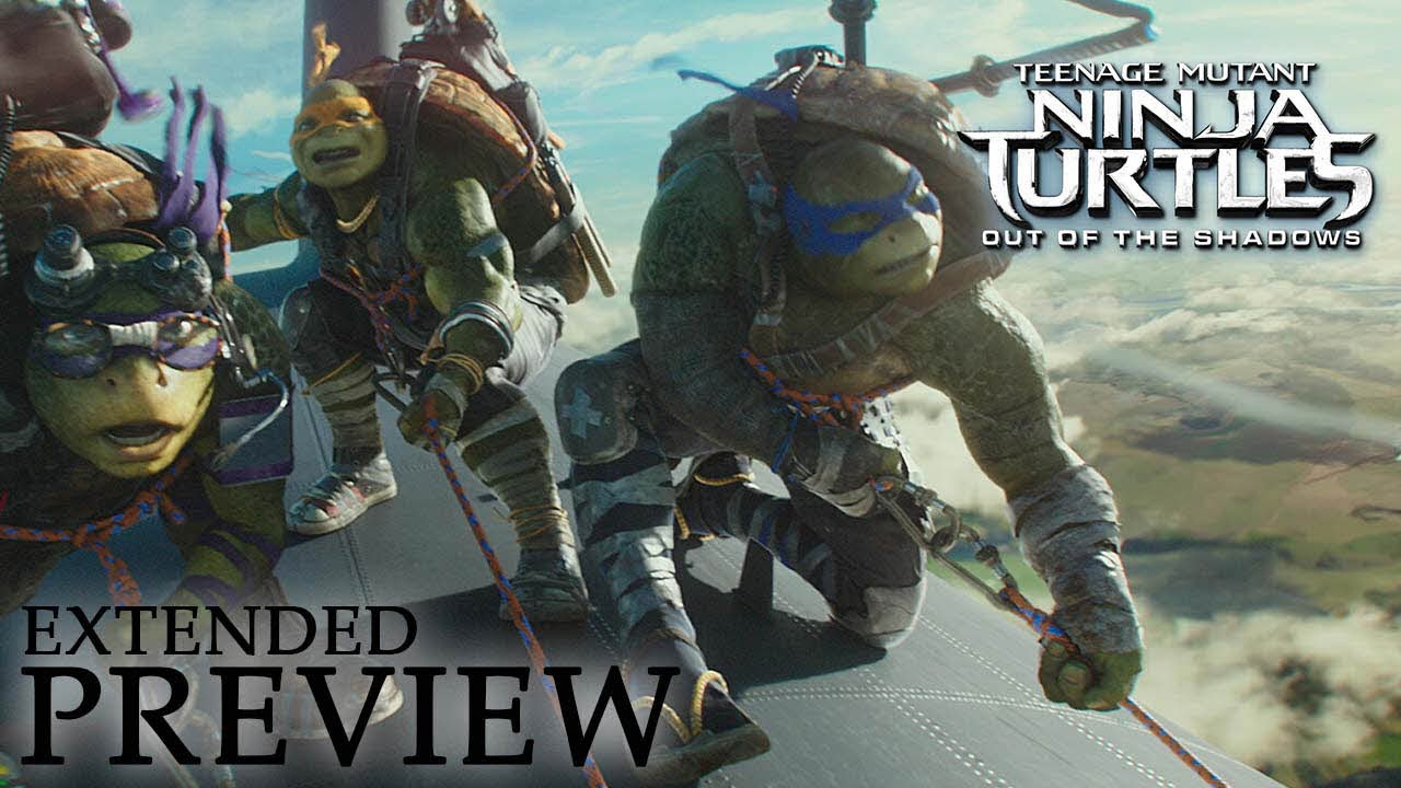 Teenage Mutant Ninja Turtles Out Of The Shadows Extended Preview Youtube