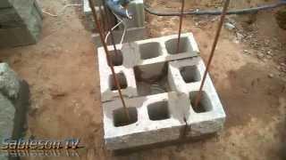 Опорные столбы под монолитную площадку(продолжение работы)(Опорные столбы под монолитную площадку., 2014-07-05T18:58:49.000Z)