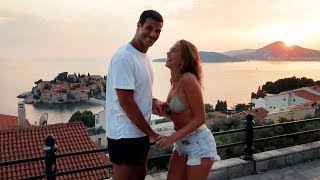 VACAY SUNSETS ARE THE BEST ONES - Montenegro travel diary pt1 (IN ENGLISH!)