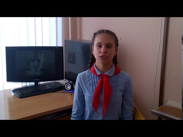 Изображение предпросмотра прочтения – ДарьяСавина читает произведение «Я говорю с тобой под свист снарядов...» (Берггольц Ольга)