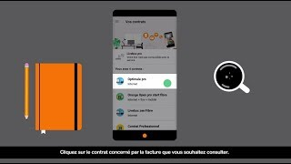Application Orange Pro : gérer ses factures