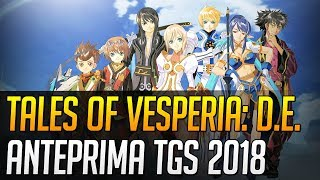 Tales of Vesperia Definitive Edition: Anteprima dal Tokyo Game Show 2018