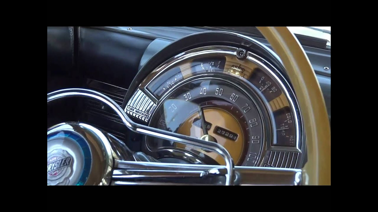 1950 Chrysler Windsor With 27288 Original Miles Youtube 1950s Cars