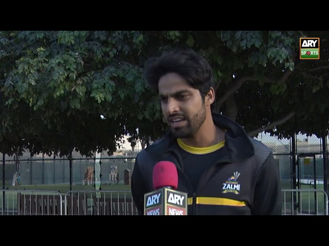 'I'm happy batting in the upper order, this has been my best PSL so far' - Umar Amin