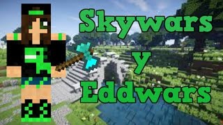 Mi primer video jugando minecraft | Eggwars y Skywars