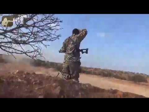 فيديو يوضح طرد قوات مجلس الشورى لعصابات حفتر من منطقة الظهر الحمر بالكامل