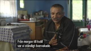 Rumänsk tiggare berättar om organiserat tiggeri