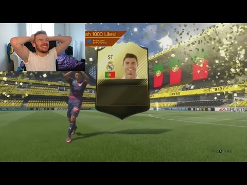 ST RONALDO IN A FREE PACK!!! - FIFA 17