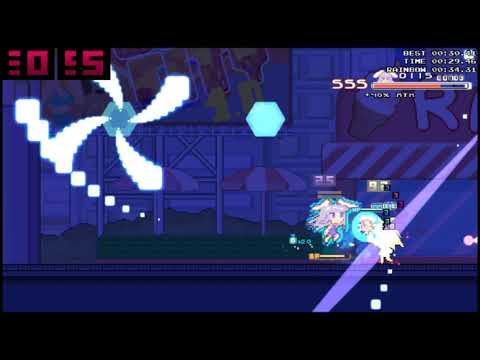 Rabi-Ribi - Beating Artbook Mission 4 with Cicini's RIDICULOUS 2021 Attack  
