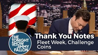 Thank You Notes: Fleet Week, Challenge Coins thumbnail