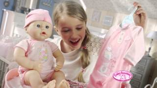 Smyths Toys - Baby Annabell Baby Unit Wardrobe and Changing Table