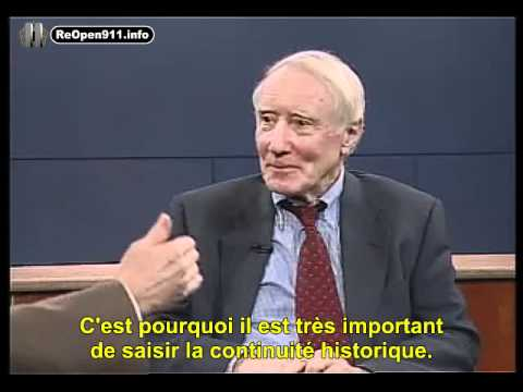 """Interview de Peter Dale Scott """"La Route vers le nouveau désordre mondial"""" 3 / 5"""