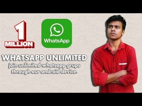 How To Join Automatically Unlimited Whatsapp Group On Android