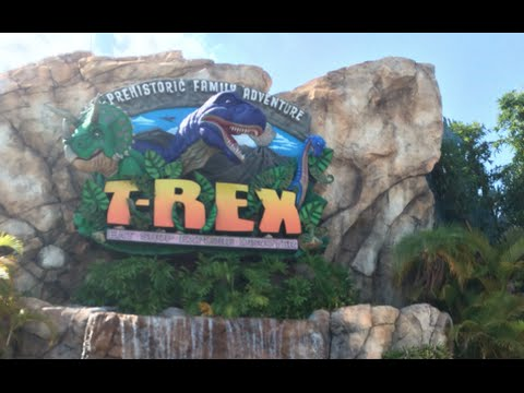 T-Rex Cafe Review at Downtown Disney