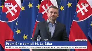 Pellegrini nesúhlasí s demisiou ministra Lajčáka