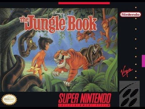 The Jungle Book (1994) - Super Nintendo SNES