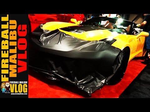 HOW TO WRAP A CAR AT WRAPCON! - FIREBALL MALIBU VLOG 649