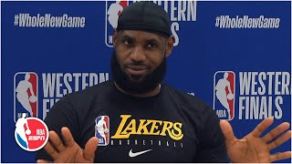 LeBron James sounds off about 2nd-place finish in MVP voting | 2020 NBA Playoffs