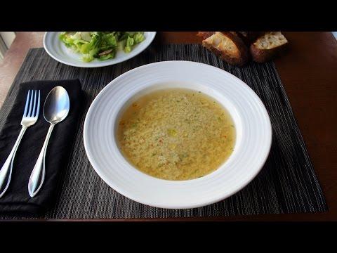 Stracciatella Soup - Italian Egg Drop Soup Recipe