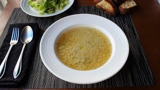 Stracciatella Soup - Italian Egg Drop Soup Recipe