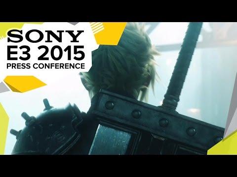 Final Fantasy VII Remake Announcement Trailer  - E3 2015 Sony Press Conference