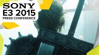 Final Fantasy VII Remake Announcement Trailer  - E3 2015 Sony Press Conference