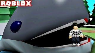 LOCKED IN A GIANT AQUARIUM! Roblox Aquarium