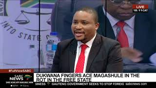 State Capture Inquiry | Mxolisi Dukwana happy to face Magashule in court