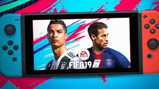 ОБЗОР FIFA 19 НА NINTENDO SWITCH