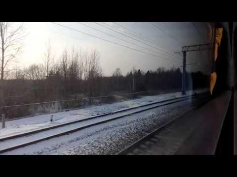 Поезд 727Н Нижний Новгород-Москва: Владимир-Орехово Зуево 5.01.2016