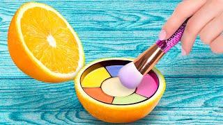 REAL Makeup Inside Fruits! | Crazy Ways To Hide Your Makeup