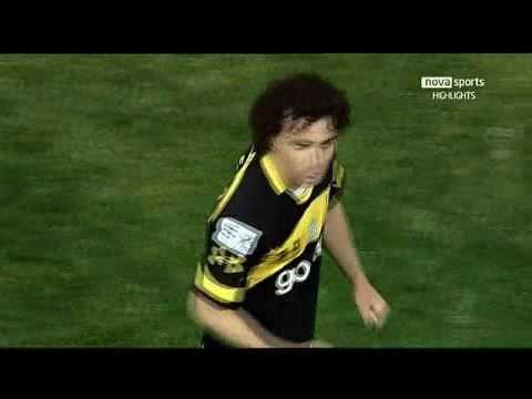 Aris - Panserraikos 3-1 (Bobadilla,Castillo & Neto Goals)