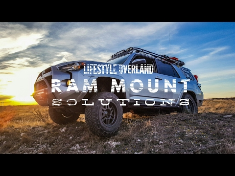 4Runner Device Mounting Solutions - Lifestyle Overland