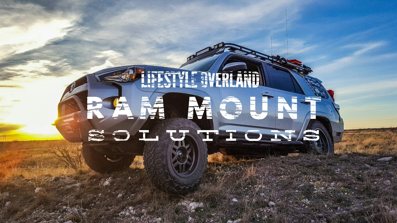 Ram Mount Parts >> 4runner Device Mounting Solutions Lifestyle Overland Youtube