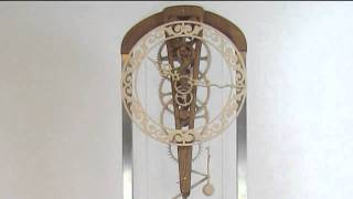 Tertius-Wooden Clock