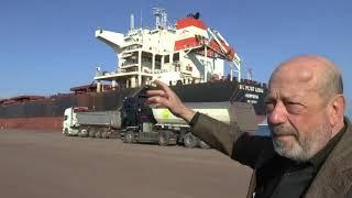 crisi porto di Brindisi reportage
