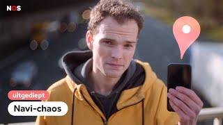 Hoe navigatie-apps voor chaos zorgen