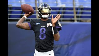 How Browns Rival Quarterback Lamar Jackson Has Looked in Training Camp - Sports 4 CLE, 8/17/21