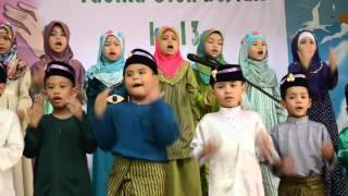 "Majlis Konvokesyen Tadika Orange 2015- Lagu "" Who next?"""