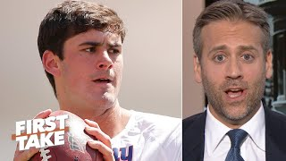 'Just don't fumble the ball!' – Max Kellerman on Daniel Jones vs. the Patriots | First Take