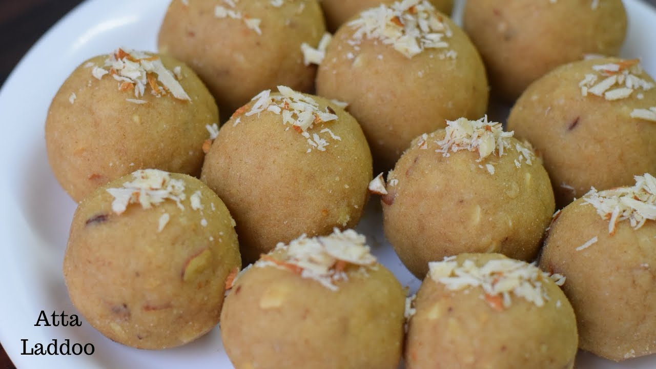 Atta laddoo | Pinni ke laddoo | Aata dry fruits laddu | Punjabi Pinni laddu | Winter special