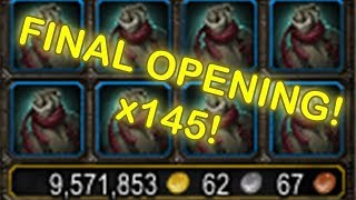 LAST LEGIONFALL RECOMPENSE OPENING EVER! | Legionfall Recompense | Legionfall War Supplies Chest