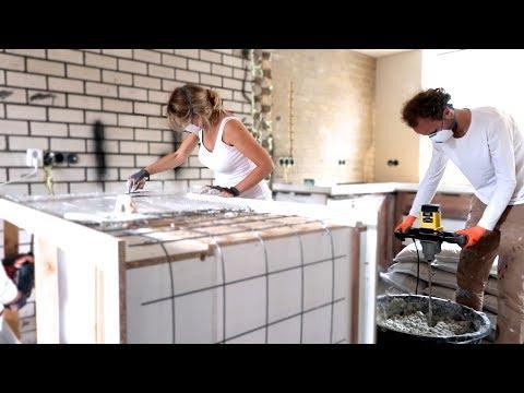 Top BETONNEN AANRECHTBLAD MAKEN! - YouTube XB53