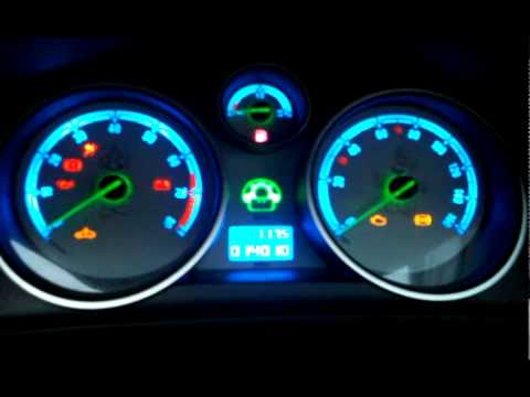 Needle Sweep For Astra Mk5 Non Vxr With Custom Dial Youtube