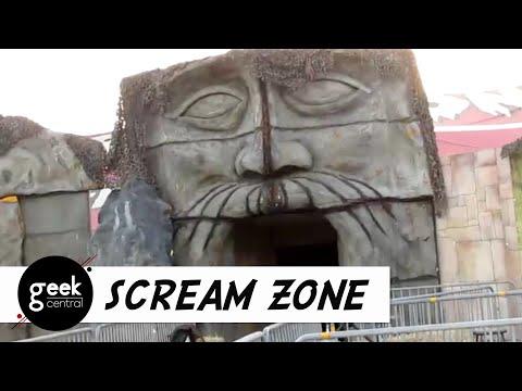 scream zone 2017 at del mar fairgrounds - Del Mar Fair Halloween